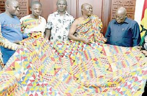 Kente named after Akufo-Addo