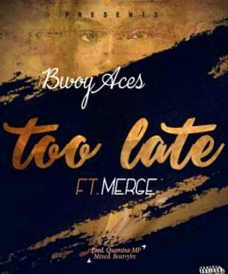 Bwoy Aces ft Merge_Too Late (mp3 download)