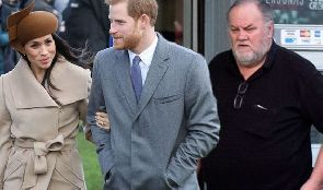 Meghan Markle's father, who has never met the Prince will walk her down the aisle