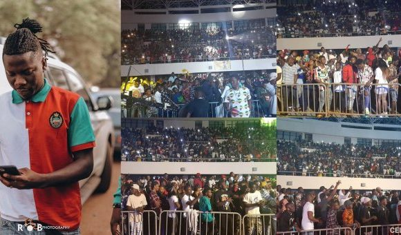Stonebwoy sold out Bhim Concert at Tamale Sports Stadium