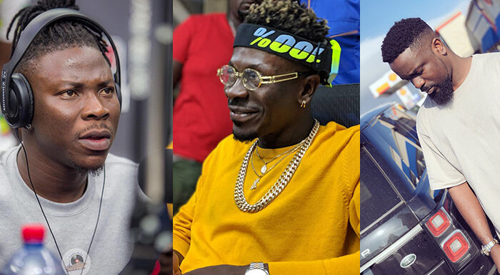 Industry colleagues congratulates Shatta Wale on his big move