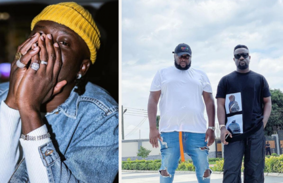 Sarkodie finally reacts to Stonebwoy's assault on his manager